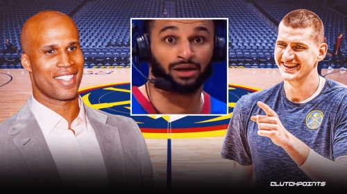 VIDEO: Jamal Murray was mad confused after Richard Jefferson clowned him mid-interview