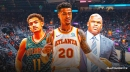 Hawks' Trae Young, Nate McMillan on John Collins riding bench in 4th quarter vs. Heat