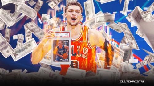 Zach LaVine's meteoric NBA card rise has been wild amid All-Star season