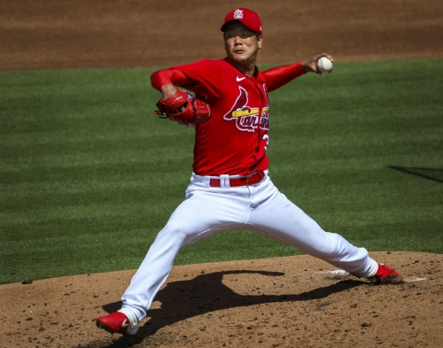 Shildt says Cardinals lefthander Kim will stay a step ahead of competition