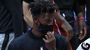 Jimmy Butler travels with Heat to New Orleans after missing two games with sore knee
