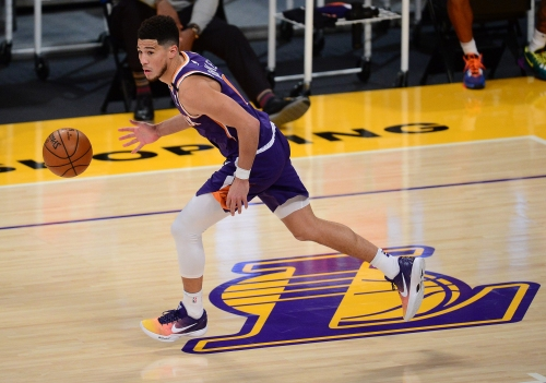 Devin Booker addresses ejection in Phoenix Suns' win at Los Angeles Lakers