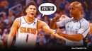 Suns star Devin Booker's NSFW comment to referee that led to ejection vs. Lakers