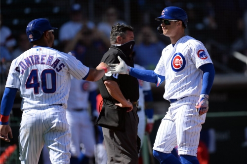 Cubs 8, Mariners 8: Tying one on