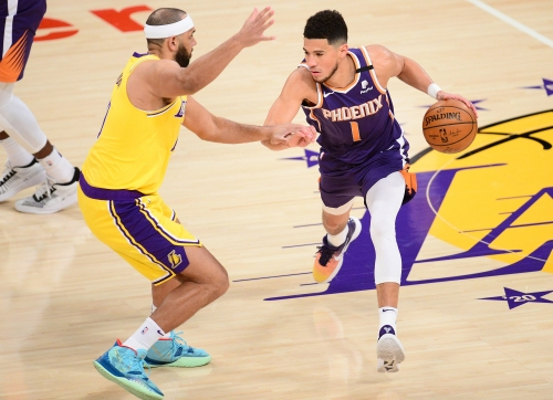 Phoenix Suns: Look back at Devin Booker ejection in Suns' win over Lakers, ahead to Warriors