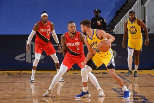 Warriors vs. Trail Blazers: Game thread