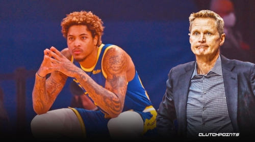 Warriors' Steve Kerr describes the 'scary' accident that led to Kelly Oubre Jr.'s wrist injury
