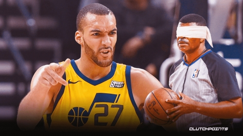 Rudy Gobert absolutely rips into officials over 'too obvious' Jazz disrespect