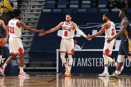 Bulls vs. Pelicans final score: 51 combined from Coby White and Zach LaVine earn Bulls 128-124 win