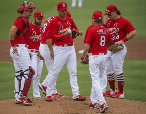 Kim, like Flaherty, struggles in first spring outing for Cardinals