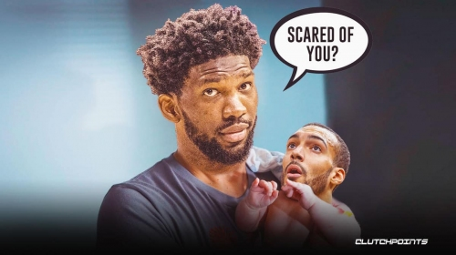 Sixers center Joel Embiid fires back at reports that he's 'scared' of Rudy Gobert