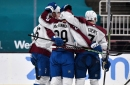 Colorado Avalanche win the game but lose Nathan MacKinnon