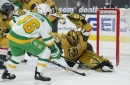 Golden Knights 5, Wild 1: Multi-point efforts from five Vegas skaters propels Knights past Minnesota