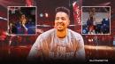 Blazers' CJ McCollum reacts to Damian Lillard's epic two-way clutch plays vs. Warriors