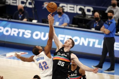 Game Preview: Oklahoma City Thunder vs. San Antonio Spurs