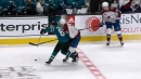 Sharks' Blichfeld to have hearing for illegal hit to MacKinnon's head