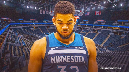 Karl-Anthony Towns' reaction to tumultuous season shows he's near breaking point
