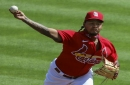 Cardinals' Martinez returns to scene of his last win