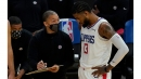 Clippers' stars huddle with Tyronn Lue to address crunch-time woes