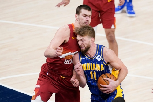 Photos: Pacers host Nuggets in NBA action