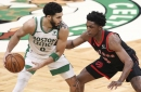 Celtics head into All-Star break on high note, win 132-125 over Raptors