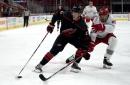 Canes Win Svechnikov Showdown, Beat Red Wings 5-2