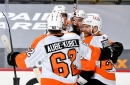 Giroux leads Flyers to epic comeback over the Penguins