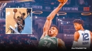 Bucks star Giannis Antetokounmpo shows off insane skills with tough shot vs. Grizzlies