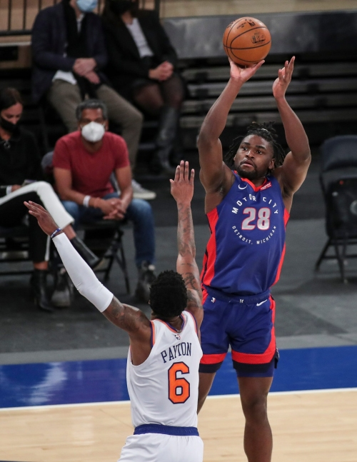 Isaiah Stewart shows offensive weaponry in Detroit Pistons' 114-104 loss to Knicks