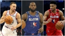 LeBron James drafts Giannis Antetokounmpo, Steph Curry for All-Star roster