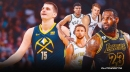 Nuggets' Nikola Jokic reacts to being drafted by Team LeBron