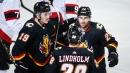 Dillon Dube scores first NHL hat trick as Flames down Senators
