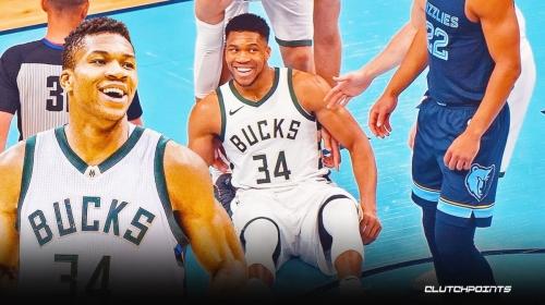Bucks' Giannis Antetokounmpo plays 'caption this' with his own meme-worthy photo