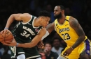 2021 NBA All-Star: Lakers' LeBron James Drafts Bucks' Giannis Antetokounmpo With No. 1 Pick