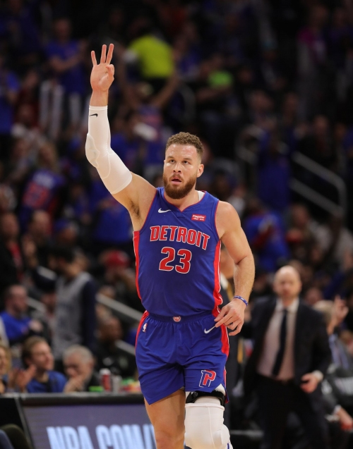 Blake Griffin and Detroit Pistons agree to buyout, making him a free agent