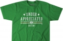 """Get your Jaylen """"UNDERAPPRECIATED"""" Brown t-shirt from BreakingT"""