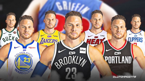 Odds for Blake Griffin's next team after Pistons buyout, revealed