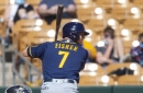 Brewers break out big bats, wallop the Rockies, 12-3