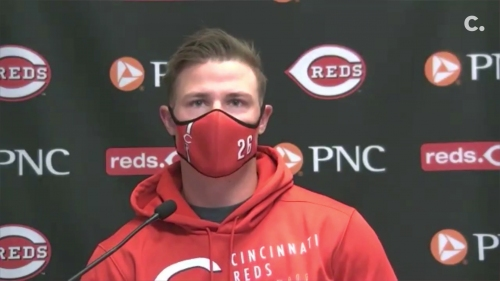 Cincinnati Reds outfielder Scott Heineman hopes for chance to play his brother