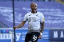 Andre Ayew brace earns Swansea dramatic Championship win over Middlesbrough