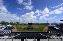 Braves spring training game against Rays gets rained out