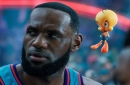 Lakers News: LeBron James Shares First Look Pictures Of 'Space Jam: A New Legacy'