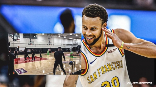 Warriors' Stephen Curry looks ready for the 3-Point Contest