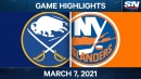 Sabres drop seventh straight game in loss to Islanders