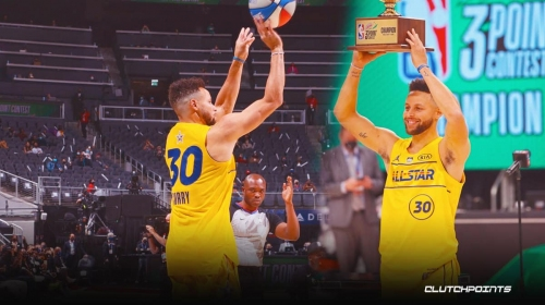 VIDEO: Warriors star Stephen Curry wins second 3-Point Contest title after epic thriller vs. Mike Conley