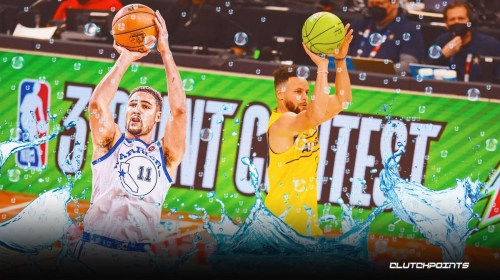Warriors star Stephen Curry dedicates thrilling 3-Point Contest win to Klay Thompson