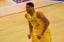 Giannis Antetokounmpo wins NBA All-Star Game Most Valuable Player