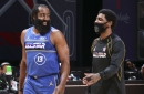 Kyrie Irving and James Harden combine for 45 in All-Star Game