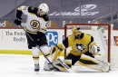 RECAP! Bruins eke out win against Penguins, 2-1, Vladar earns first career win