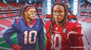 Cardinals receiver DeAndre Hopkins' viral tweet on 1-year anniversary of Texans trade